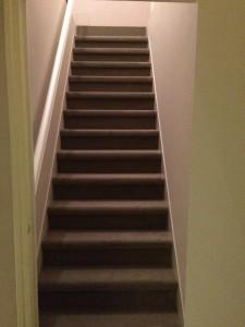 Robert Steve moquette escalier