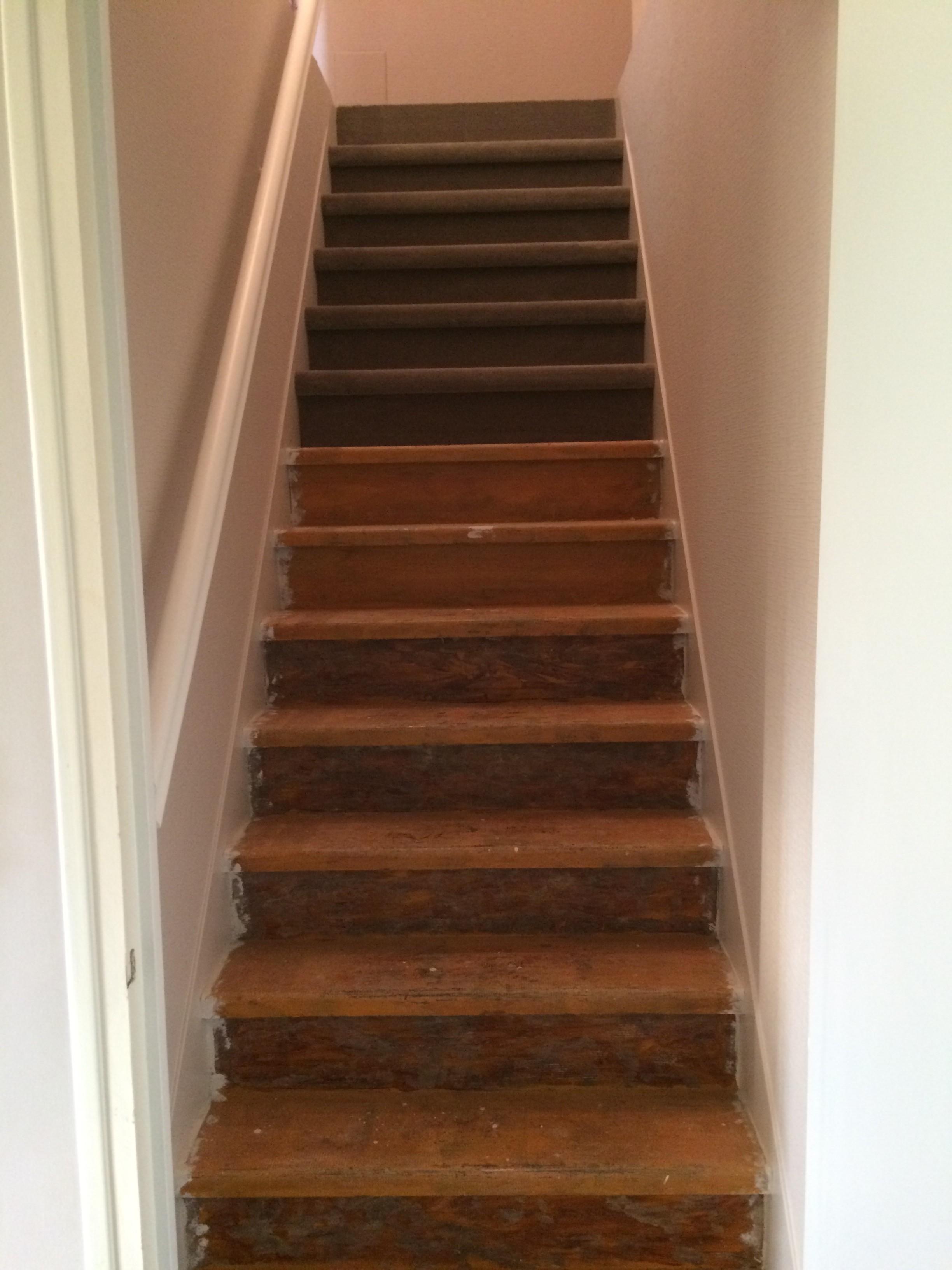 pose de moquette dans un escalier steve robert peinture. Black Bedroom Furniture Sets. Home Design Ideas