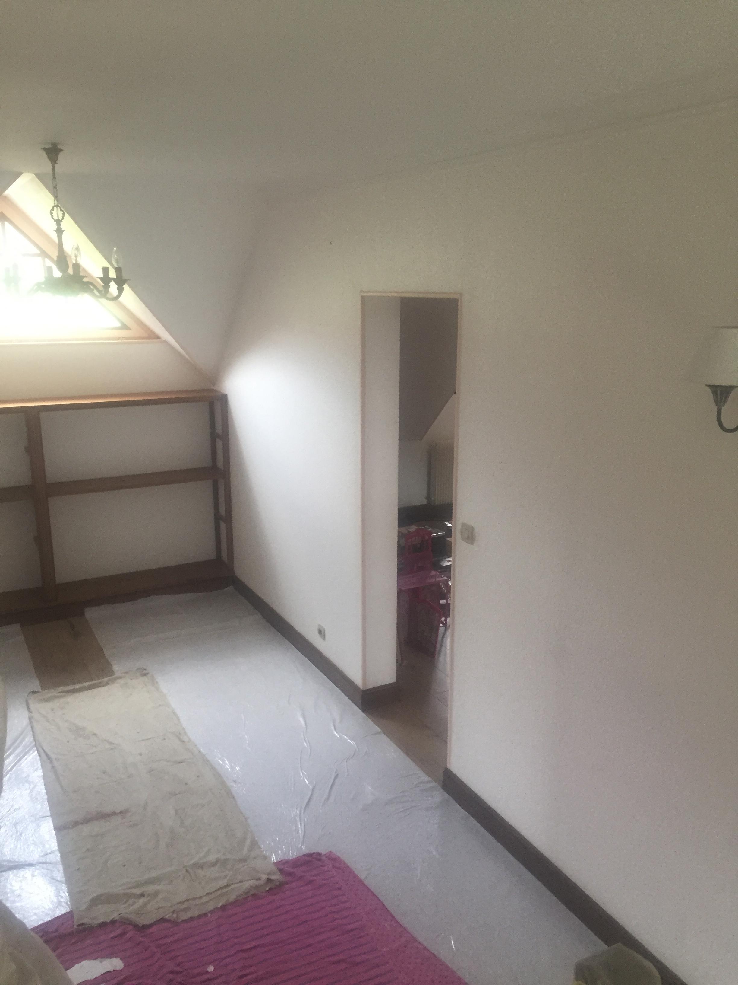 r novation d 39 une maison en papier peint steve robert peinture. Black Bedroom Furniture Sets. Home Design Ideas