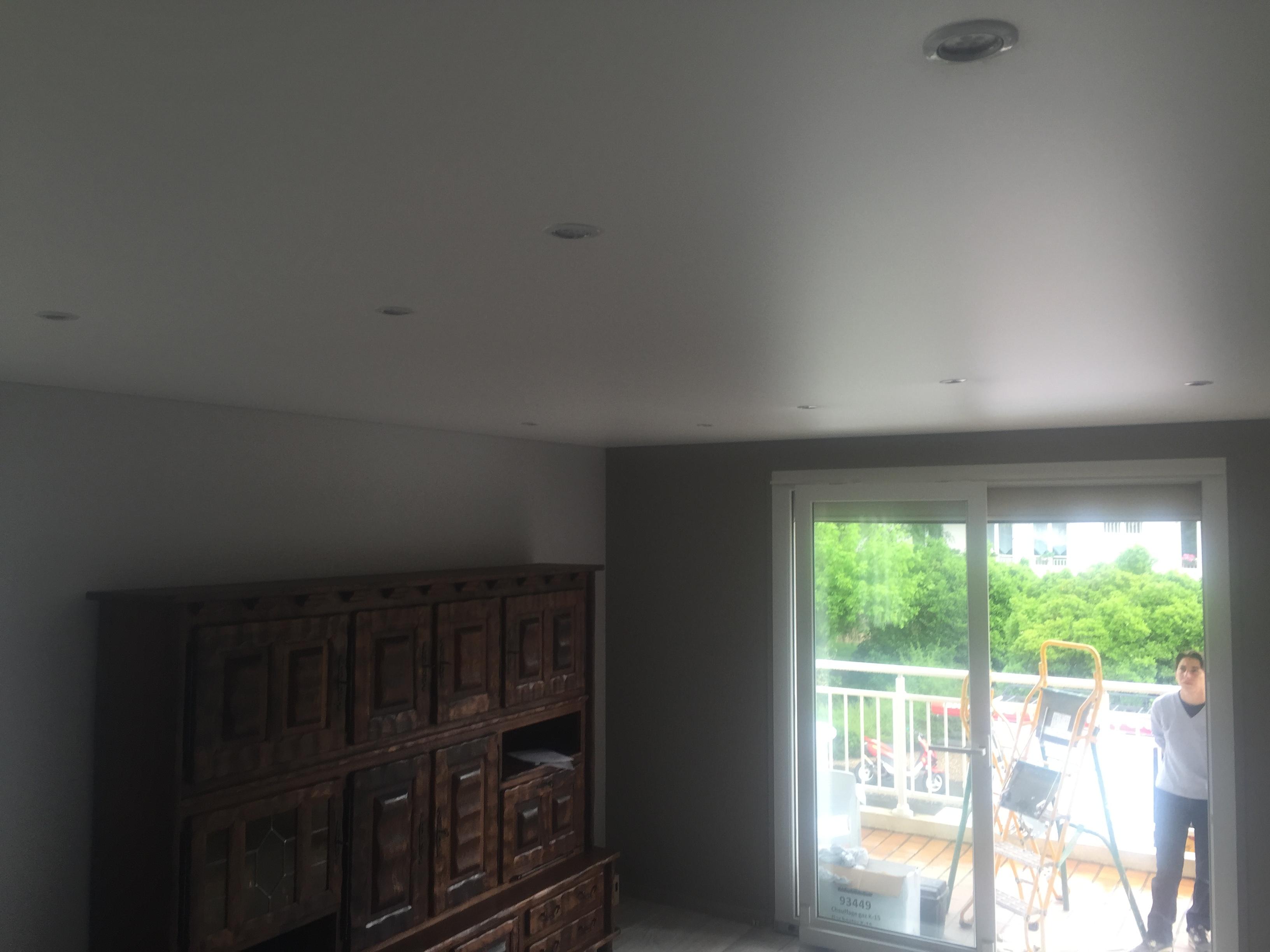 Plafond Tendu Avec Spots Plafond Tendu Avec Spots
